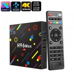 H96 MAX Plus 4K Smart TV Box Android 8.1