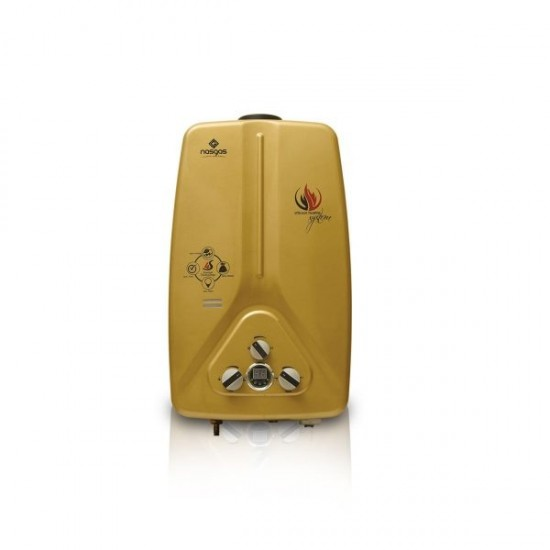 Nasgas Instant Gas Water Heater DG 07L GOLD