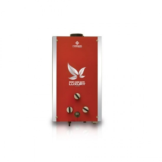 Nasgas Crystal Instant Gas Water Heater DG 10L