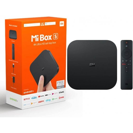 Xiaomi Mi Box S 4K HDR Android TV