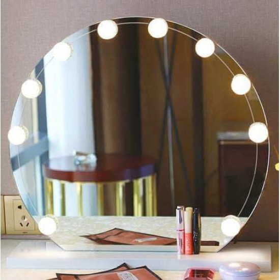 10 LED Vanity Mirror Lights Kit