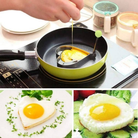 4 Style Egg Shaper for Cooking