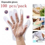 Eco Friendly Polythene Disposable Kitchen Gloves 100 Piece