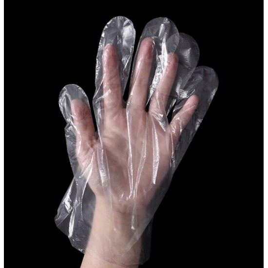 Eco Friendly Polythene Disposable Kitchen Gloves 100 Piece