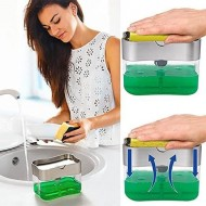 Multi Press Soap Dispenser Sponge Box