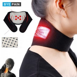 Neck Pain Relief Magnetic Therapy Support Belt