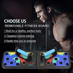 Ultra Portable Push Up Board System