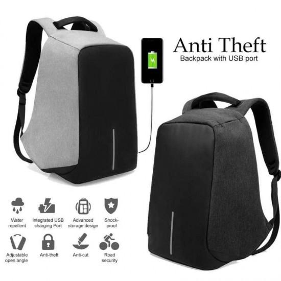Waterproof Anti Theft USB Charging Anti Cut Shock Proof Sports Backpack