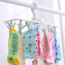 12 Clip Folding Drying Rack Underwear Socks Clip