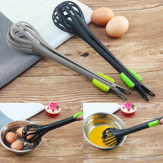 2 in 1 Egg Beater Food Clip