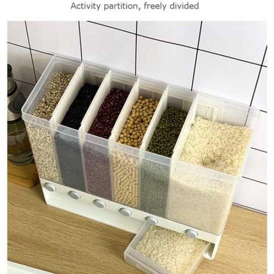 6 in 1 Grain Cereal Dispenser
