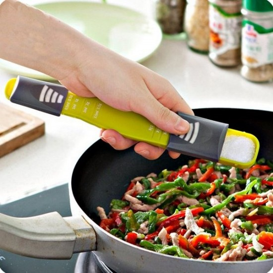 Adjustable Scale Measuring Spoon