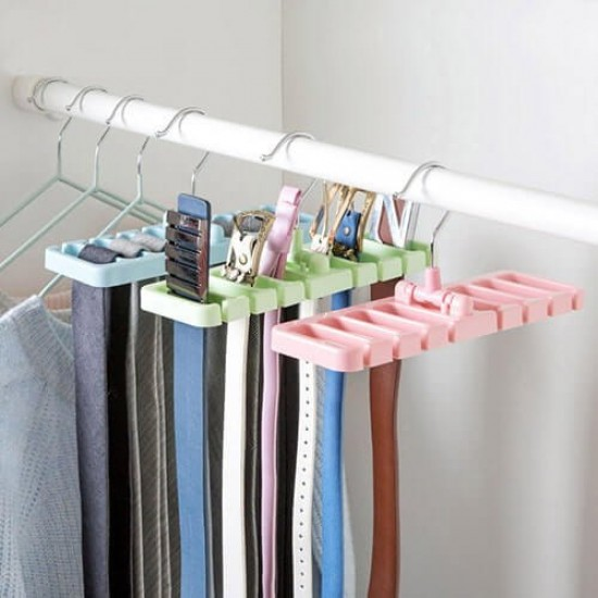 Belt And Tie Hanger