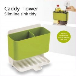 Caddy Tower Slimline Sink Tidy Dishwasher Organize