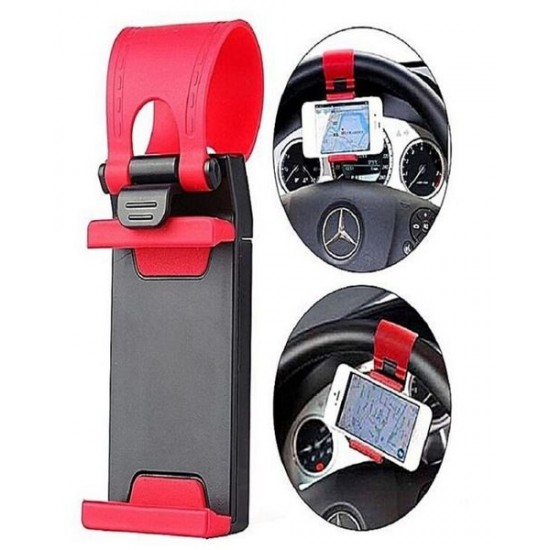Car Steering Wheel Mobile Holder