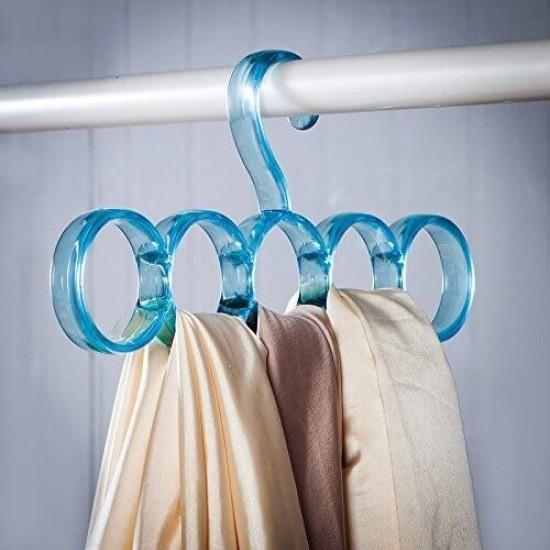 Colorful Nordic Circle Scarf Rack Multi Use Hanger