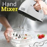 Super Electric Hand Mixer Beater Scarlet