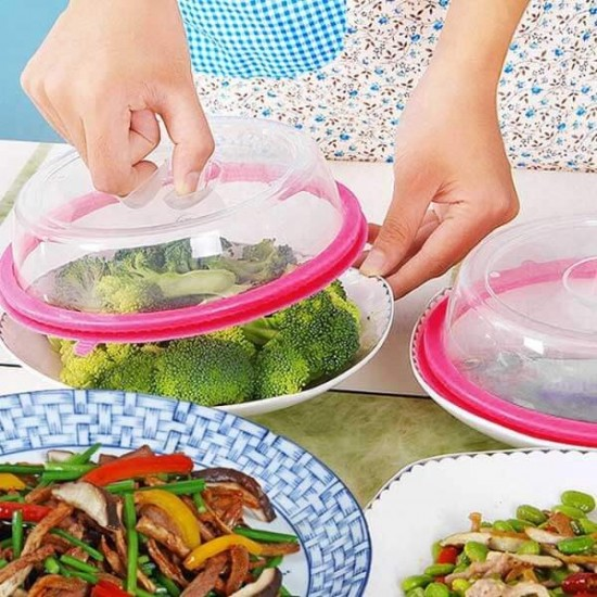Food cap Airtight Plate Cover Pack of 3