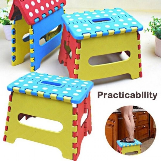 Foldable Folding Step Stool for Kids Up to 7 Years
