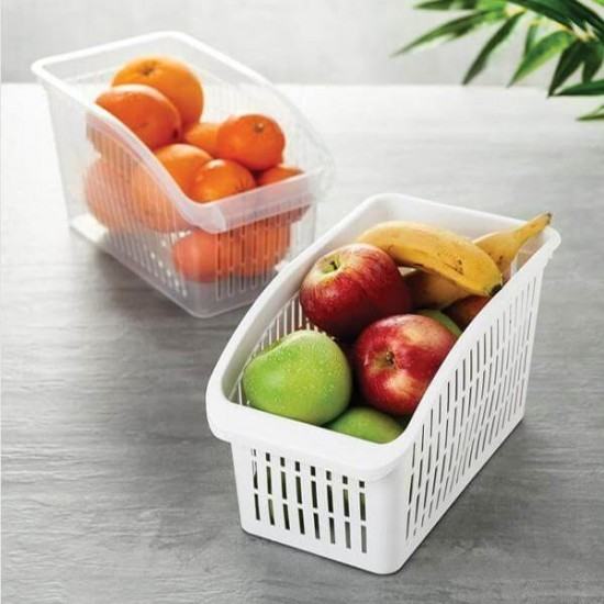 Fridge Basket Multi Purpose Fruits And Vegetables Basket