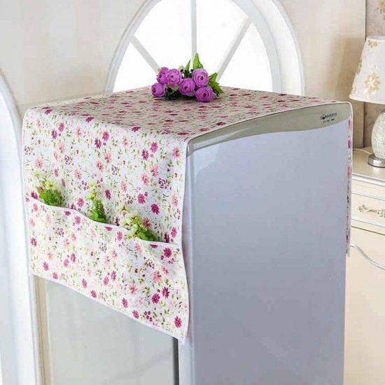 Fridge Cover with Pockets
