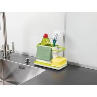 Kitchen Sink Soap And Sponge Organizer