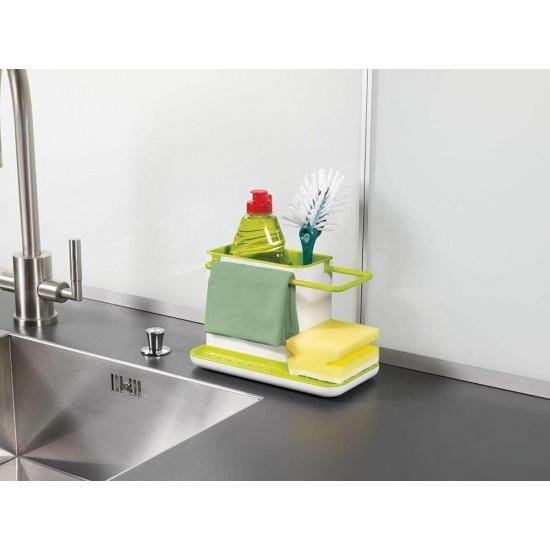 Kitchen Sink Soap And Sponge Organizer