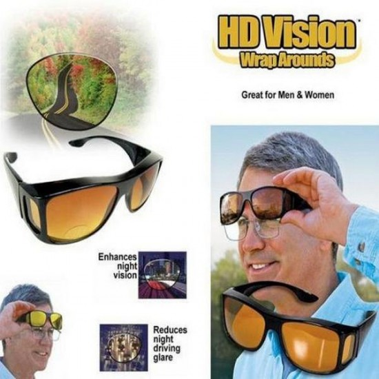 Night And Day HD Vision Glasses Safe Driving