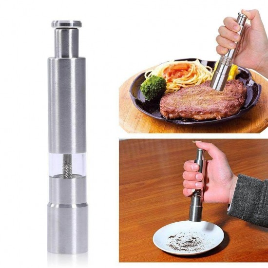 One Hand Pepper And Salt Mill