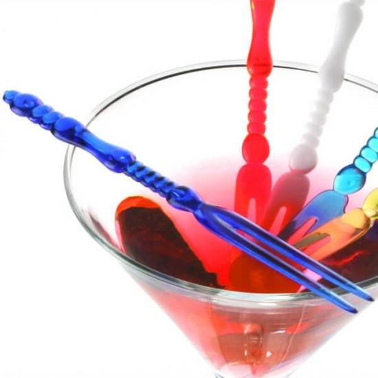 Plastic Fruit Forks 30 Pcs for Party