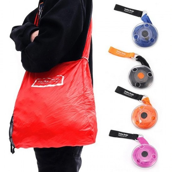 Portable Shopping Bag To Rollup