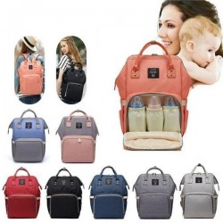Mommy Backpack Water Resistant Baby Accessories Bag