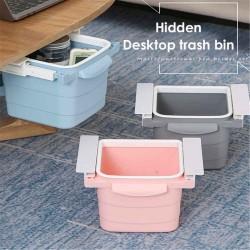 Retractable Hidden Waste Bin Under Table
