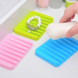 Silicone Drying Mat Dish Soap Holder Tray Self Draining