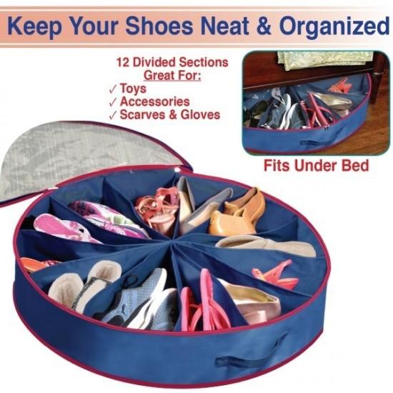 Shoe Go Round 12 Pockets Organizer