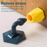 Silicone Door Stopper Double Side Wall Protection