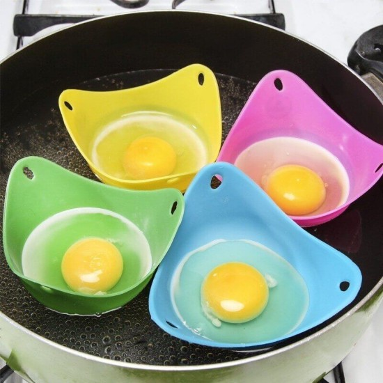 Silicone Egg Poachers 4 Pack