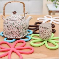 Silicone Flower Pot Stand Heat Resistant
