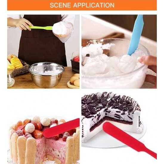 Silicone Jar Spatula for Butter Cake Jam Knife