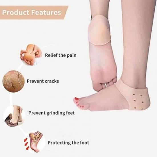 Silicone Shoe Heel Anti Crack Set