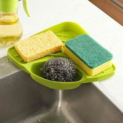 Sink Caddy Suction Cup Holder Sponges Soap Scrubbers