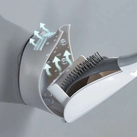 Smart TPR Silicone Toilet Brush