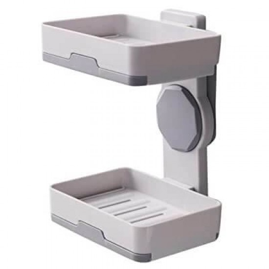 Soap Dish Multi Accessories Wall Mounted 2 Piece